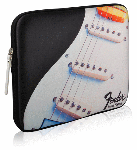 Fender iPad Protective Zippered Black Strat Sleeve