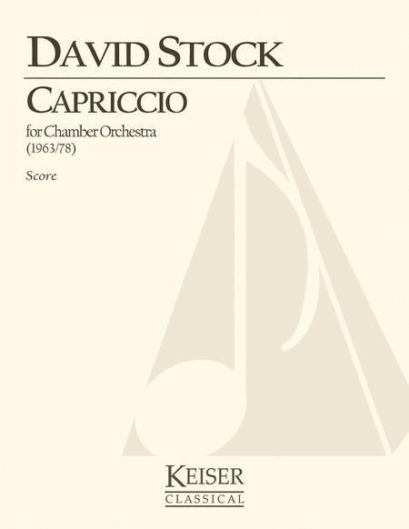 Capriccio for Small Orchestra - Full Score