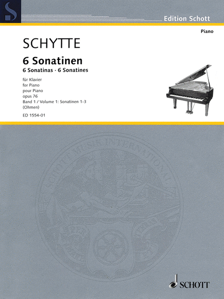 Six Sonatinas, Op. 76, Vol. 1 (Nos. 1-3)