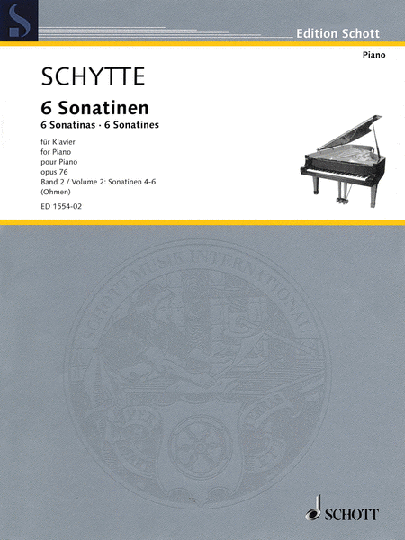 Six Sonatinas, Op. 76, Vol. 2 (Nos. 4-6)