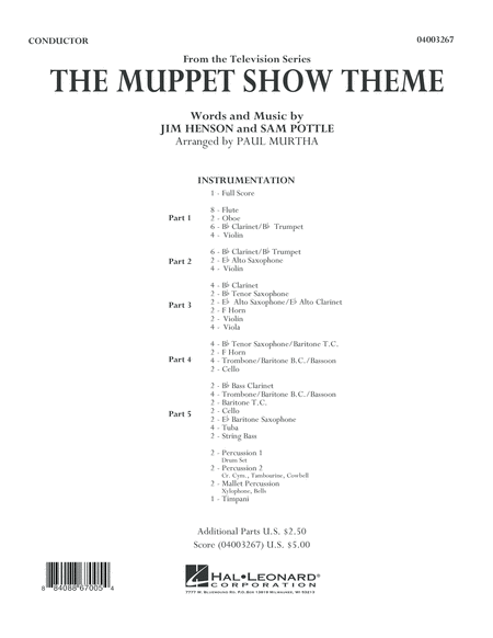 The Muppet Show Theme - Full Score