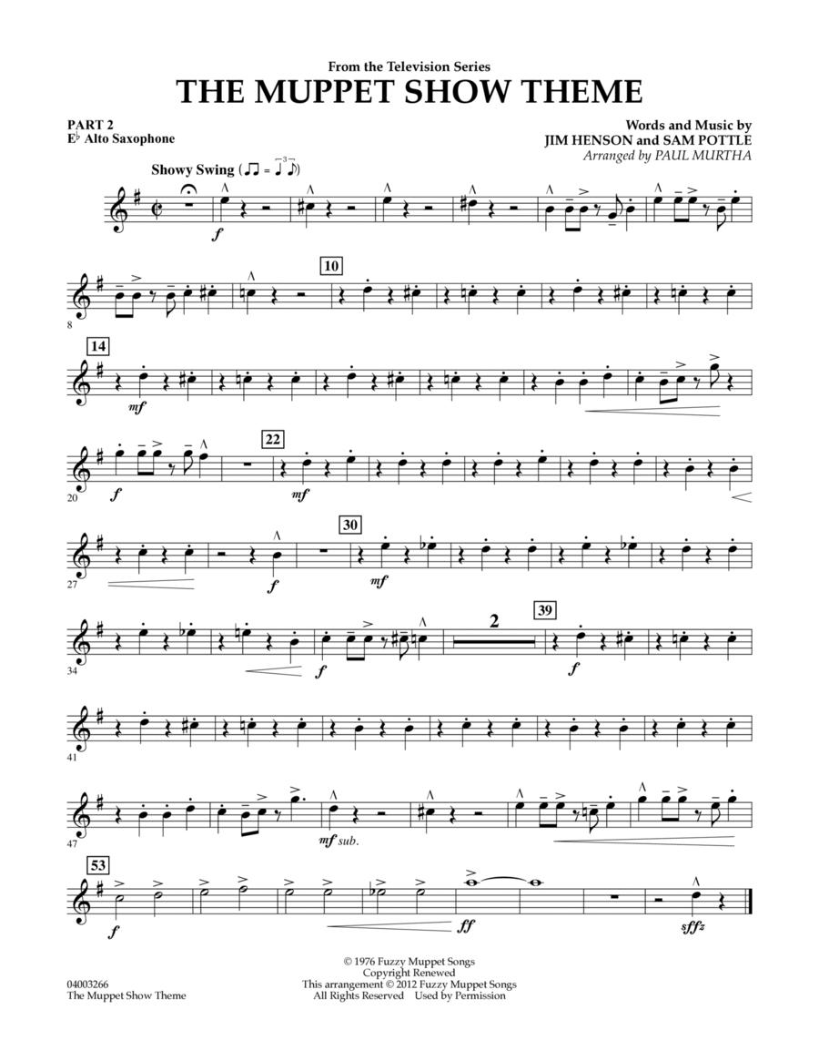 The Muppet Show Theme - Pt.2 - Eb Alto Saxophone