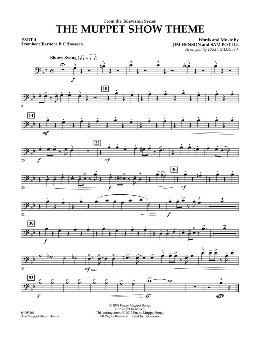 The Muppet Show Theme - Pt.4 - Trombone/Bar. B.C./Bsn.