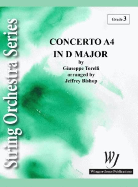 Concerto A4 in D Major