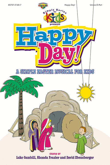Happy Day! (Split Track Accompaniment CD)