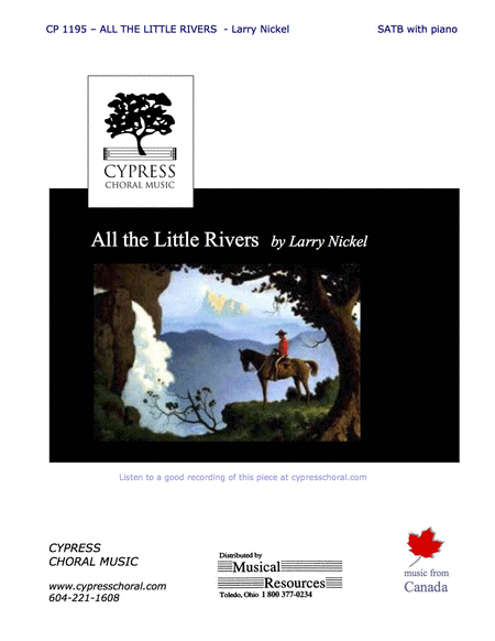All the Little Rivers (SATB)