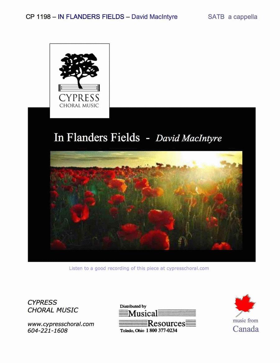 In Flander's Fields (SATB)