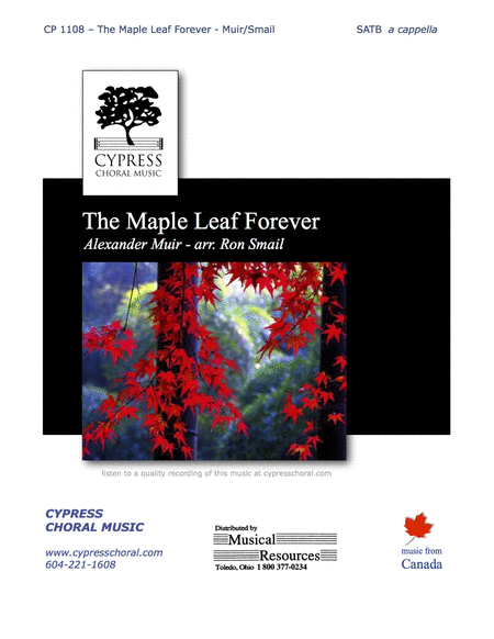 The Maple Leaf Forever (SATB)