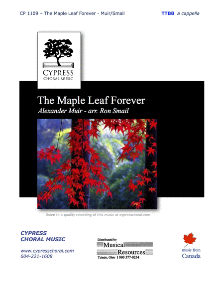 The Maple Leaf Forever (TTBB)