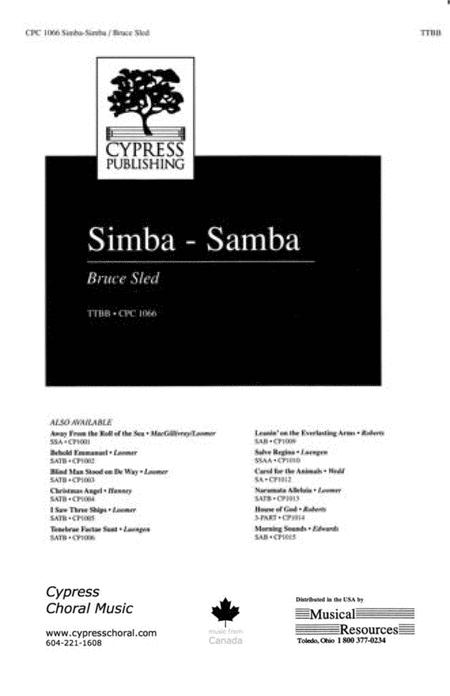 Simba Samba (TTBB)
