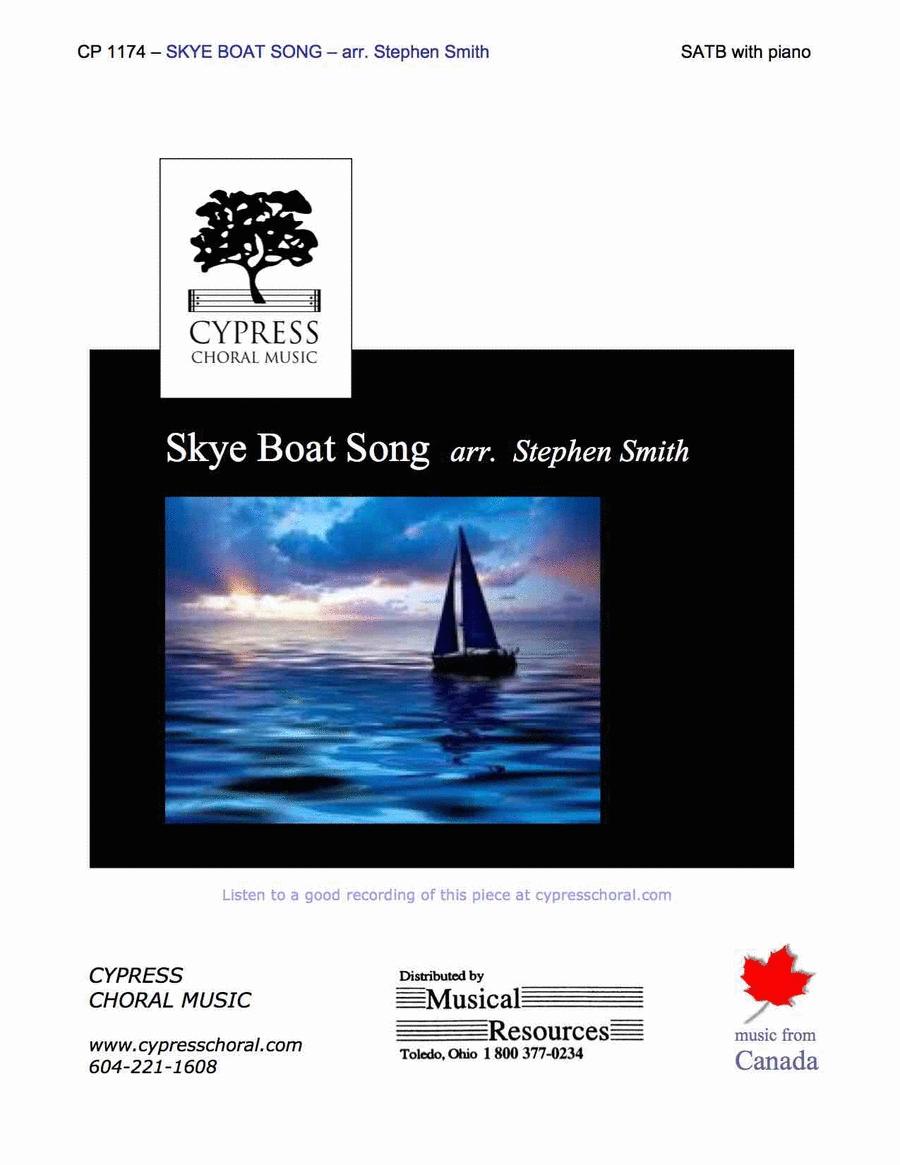 Skye Boat Song (SATB)