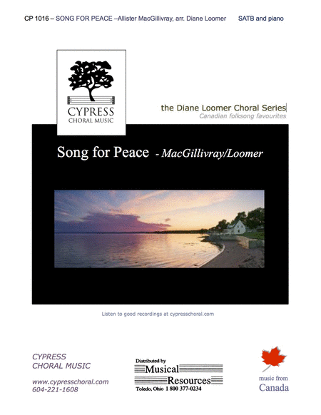 Song for Peace (SATB)
