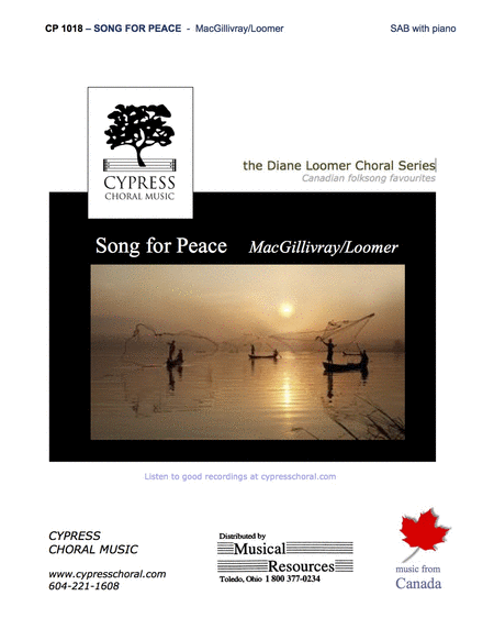 Song for Peace (SAB)
