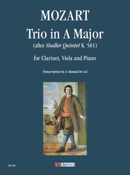 Trio in A Major (after Stadler Quintet K. 581)