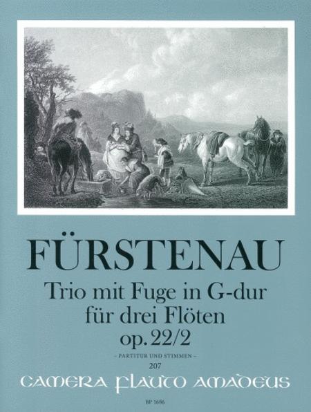 Trio with fugue op. 22/2