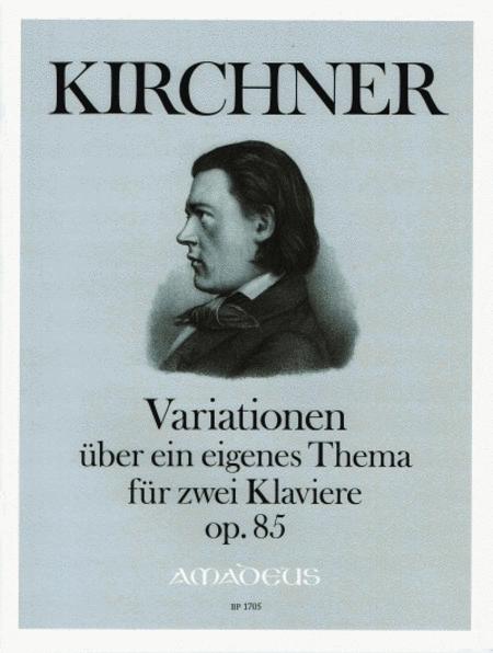 Variations on an original theme op. 85
