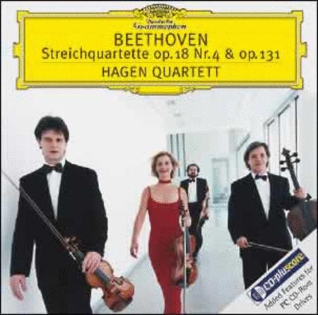 Beethoven - String Quartetts op. 18 No.4,op.131 op.18/4, op.131