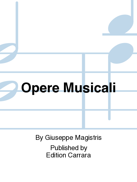 Opere Musicali