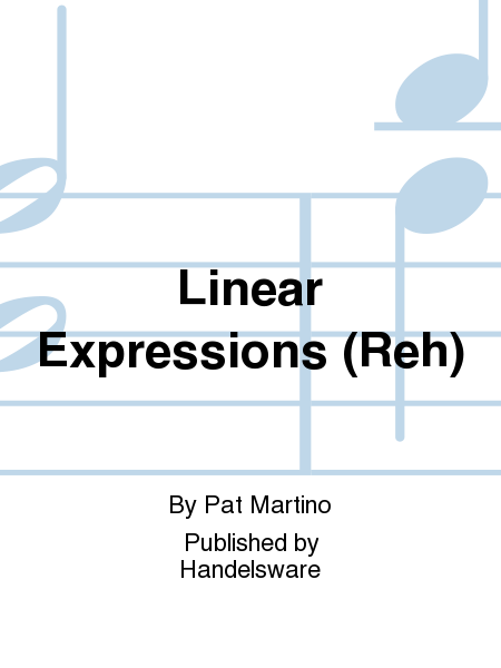 Linear Expressions (Reh)