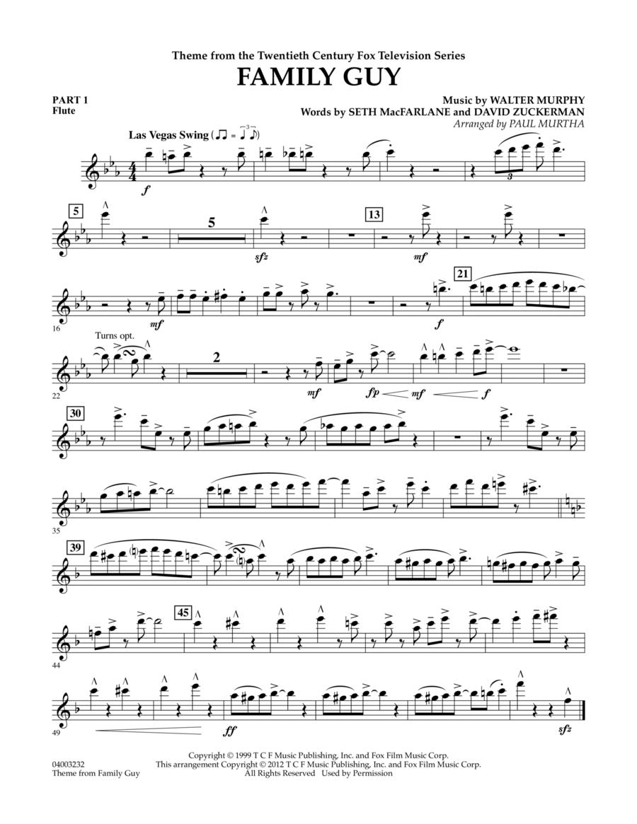Family Guy (Theme) - Pt.1 - Flute