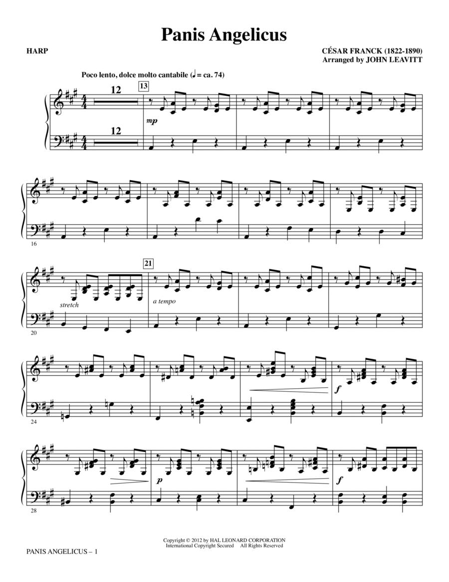 Panis Angelicus - Harp