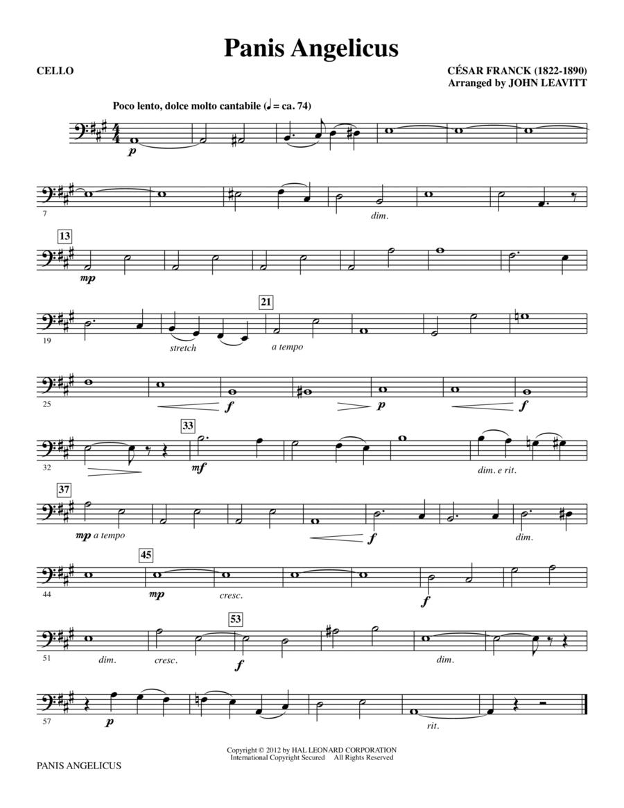 Panis Angelicus - Cello