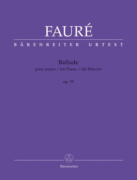 Ballade, Op. 19