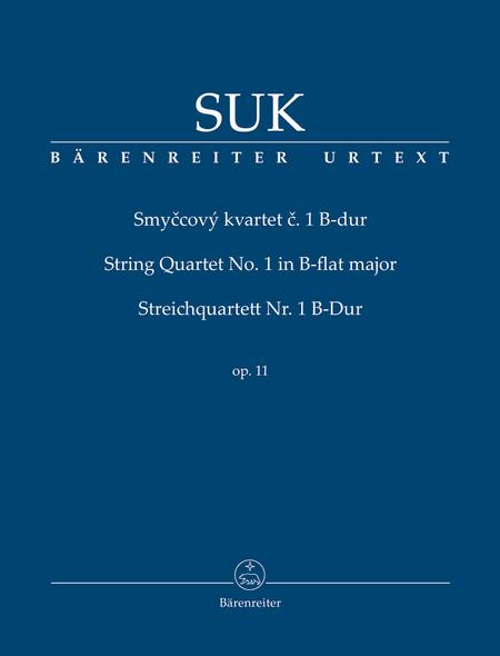 Smyccovy, KVartet c. 1, No. 1 B flat major, Op. 11
