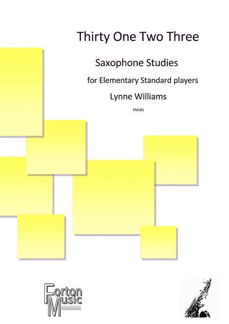 Thirty One Two Three Saxophone Studies