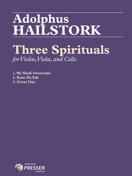 Three Spirituals for String Trio