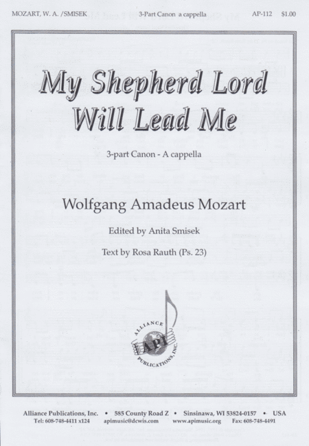 My Shepherd Lord