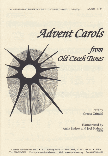 Advent Carols From Old Czech Tunes