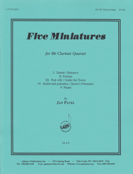 Five Miniatures