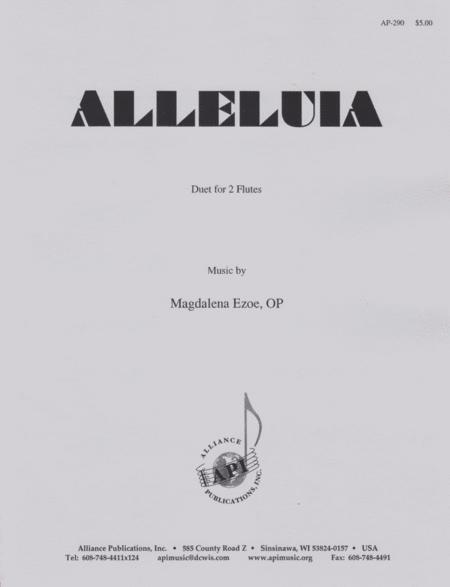 Alleluia for 2 Flutes
