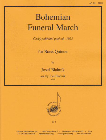 Bohemian Funeral March: Czech Processional