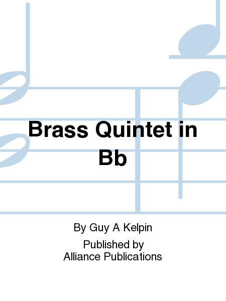Brass Quintet in Bb