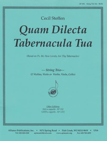 Quam Dilecta Tabernacula Tua