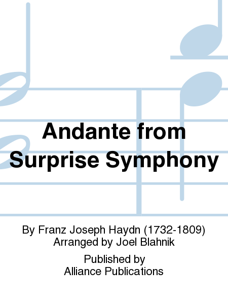 Andante from Surprise Symphony