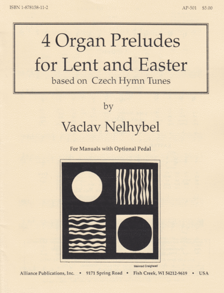 Four Organ Preludes for Lent and Easter