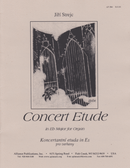 Concert Etude in Eb for Organ