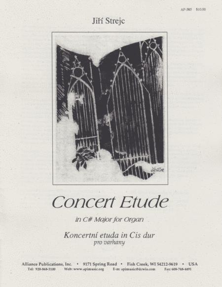 Concert Etude in C# Major for Organ