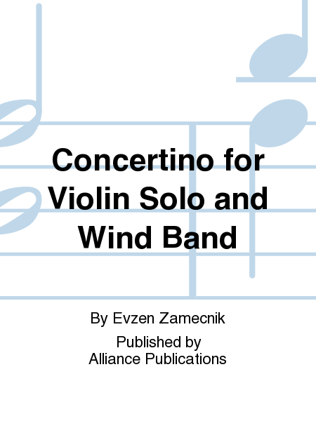 Concertino for Violin Solo and Wind Band