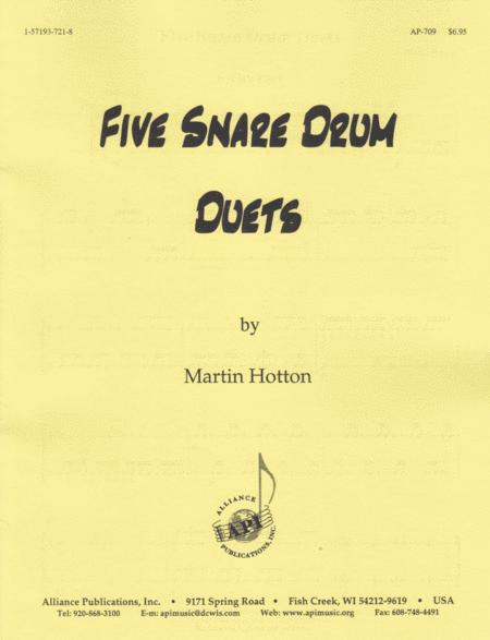 Five Snare Drum Duets