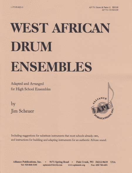 West African Drum Ensembles