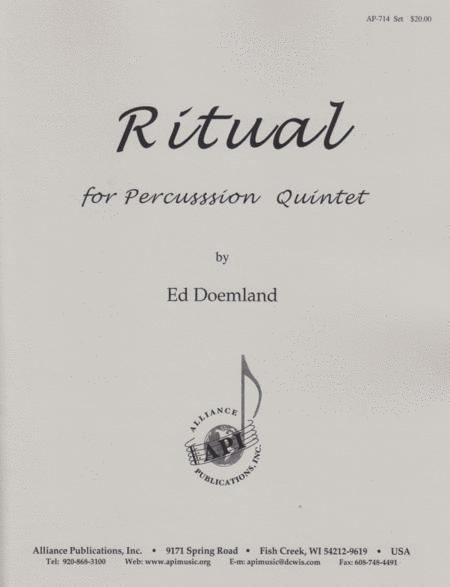 Ritual for Percussion Ensemble (5)