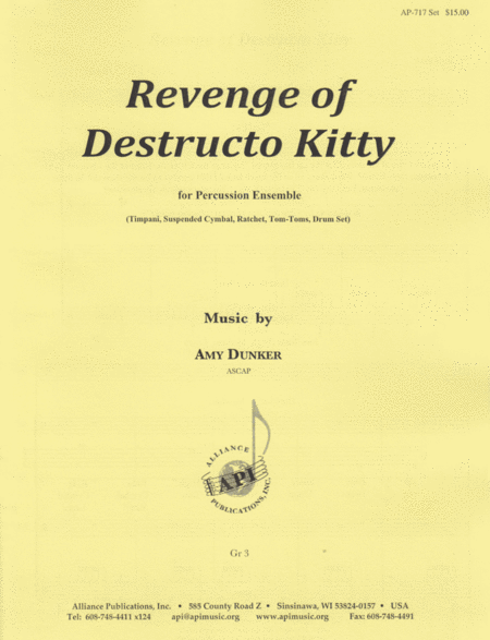 Revenge of Destructo Kitty