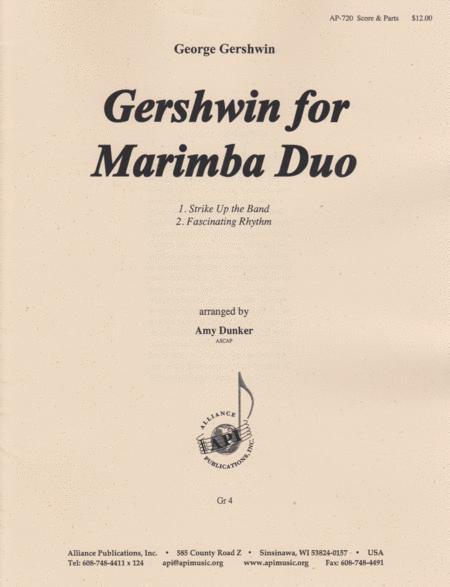 Gershwin for Marimba Duo