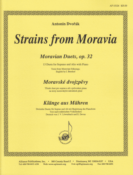 Strains From Moravia