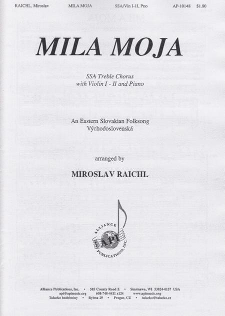 Mila Moja-Slovak Folksong