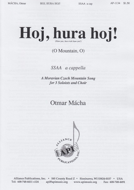 Hoj, Hura, Hoj (O, Mountain, O)